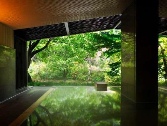 箱根リゾート界箱根の大浴場