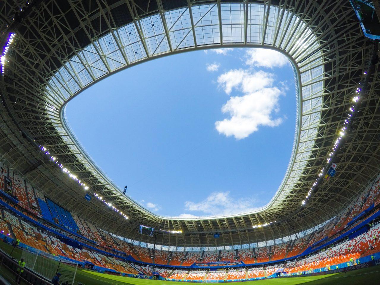 サランスクのスタジアム