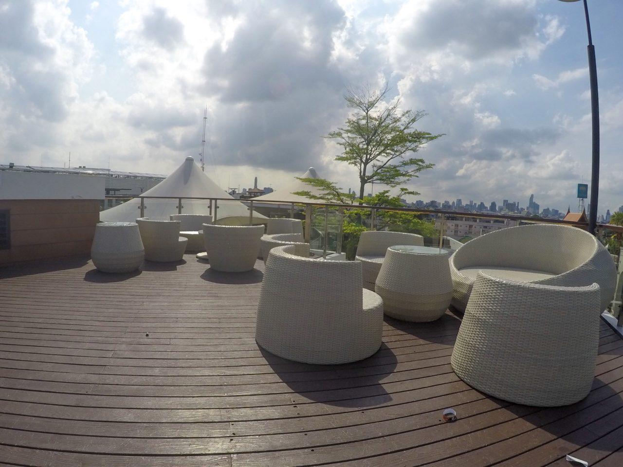 ダンドゥームホテルの屋上
