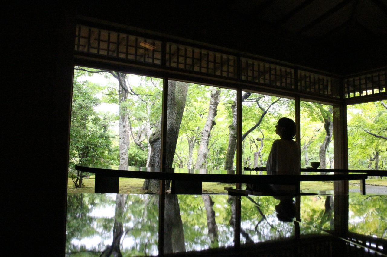 箱根美術館の茶室