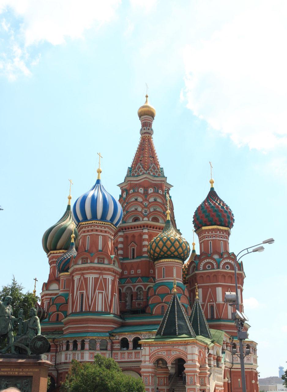 世界遺産聖ワシリイ大聖堂