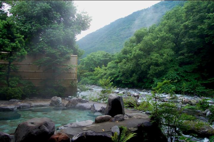 豊栄荘露天風呂