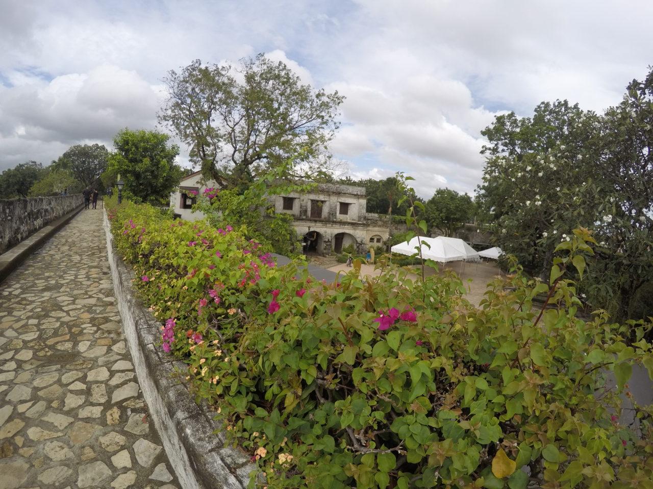 サンペドロ要塞庭園のよう