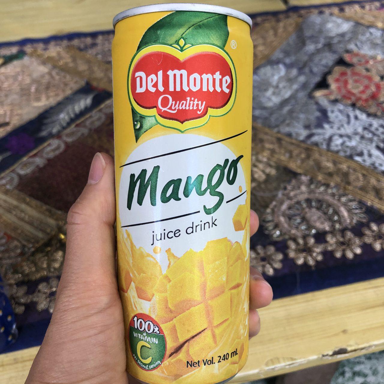 デルモンテのマンゴージュース