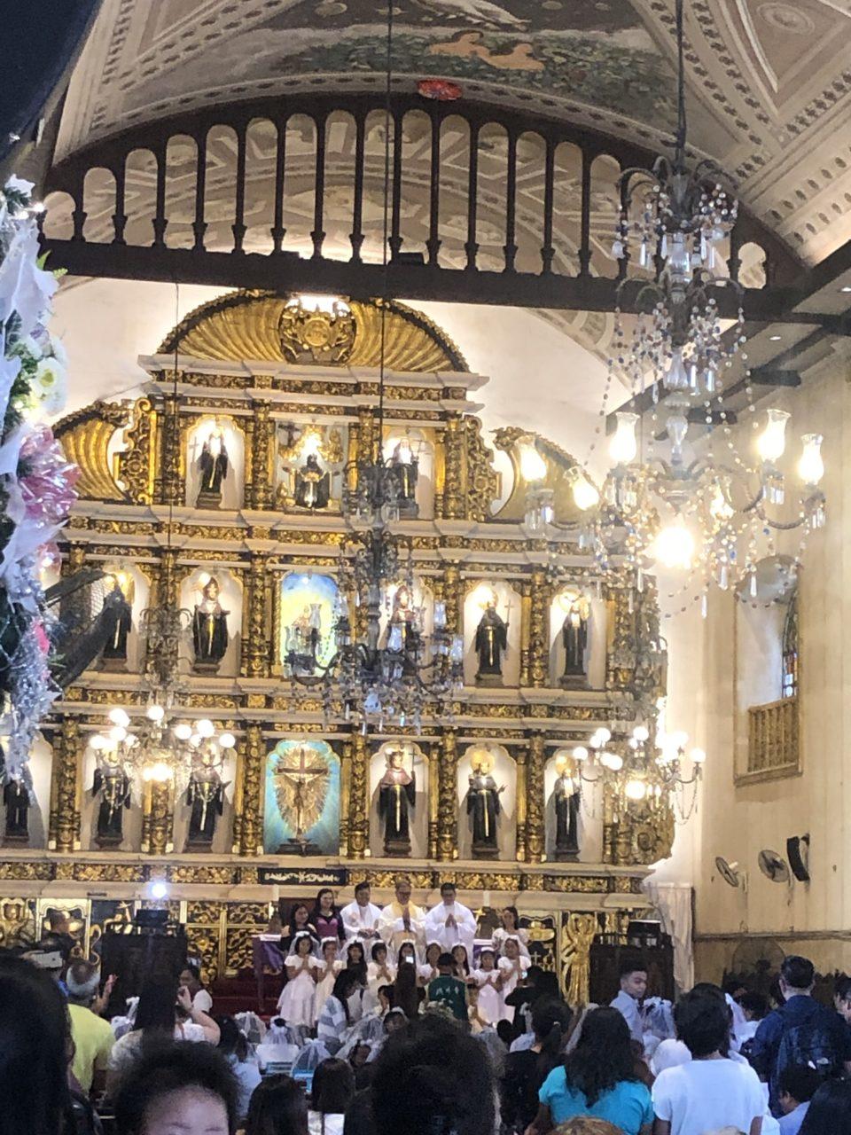 サントニーニョ教会3