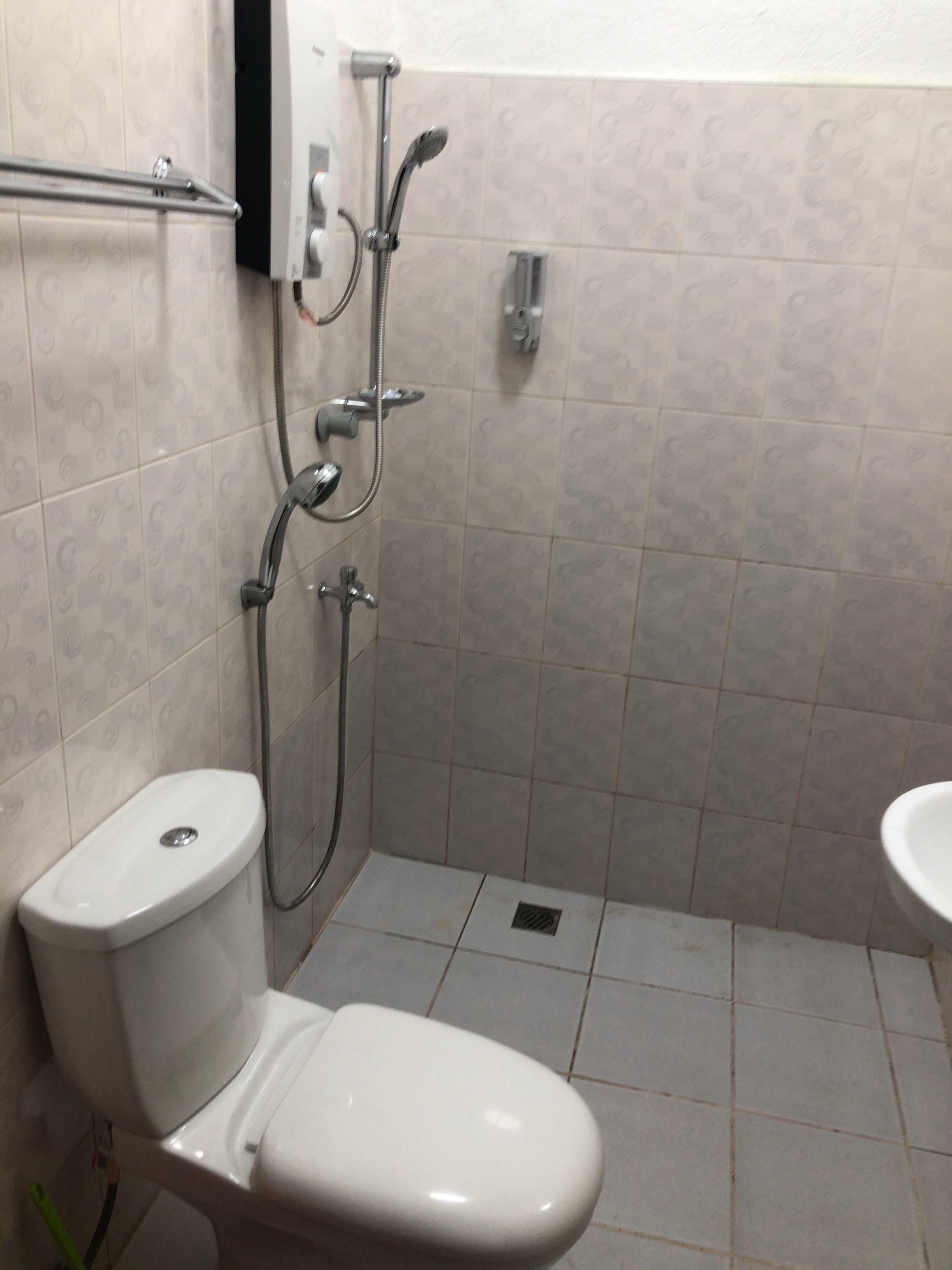 シャカゲストハウスのシャワー