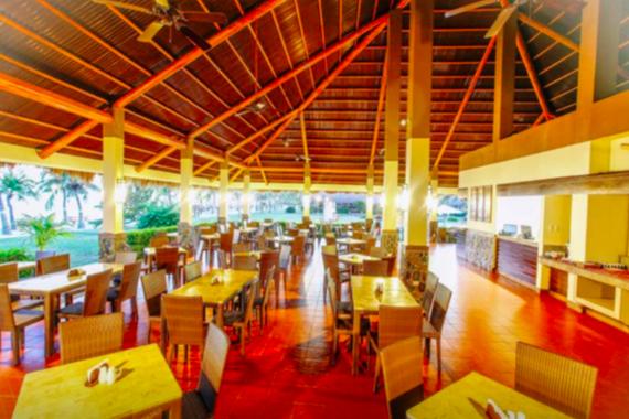 ボホールビーチクラブリゾートのレストラン