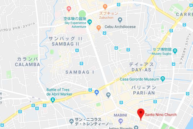 シヌログ祭りマップ