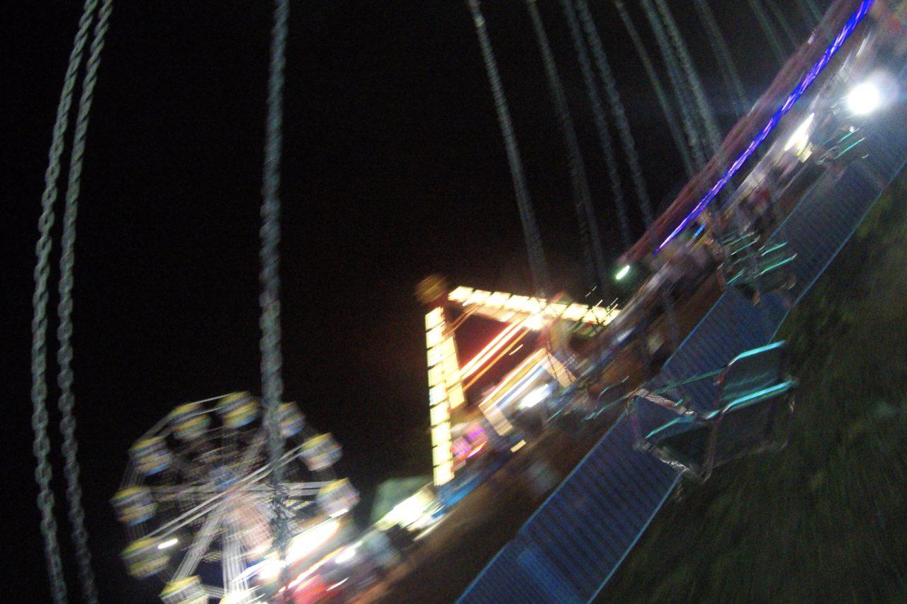 セブの遊園地空中ブランコ2
