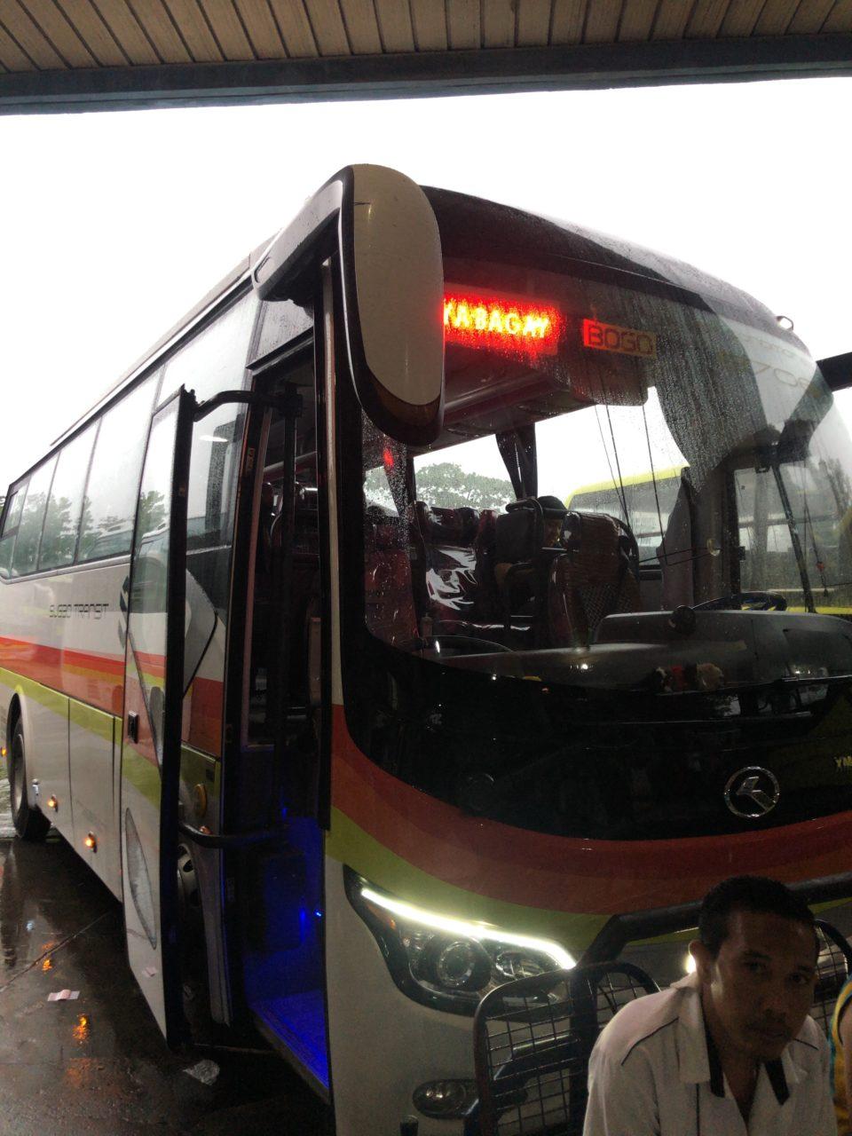 セブからマヤ港までのバス