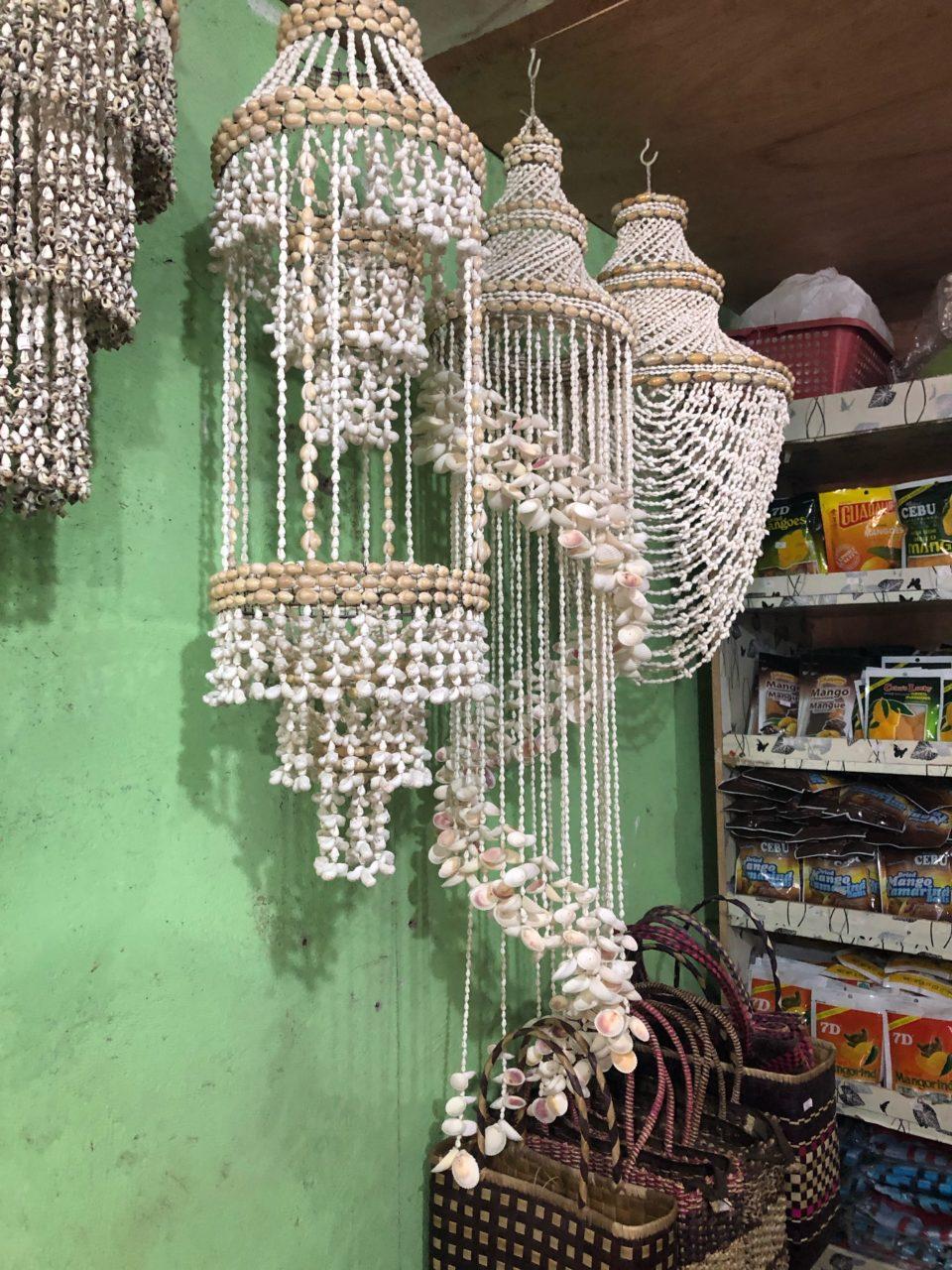 バンタヤンの貝殻のお土産