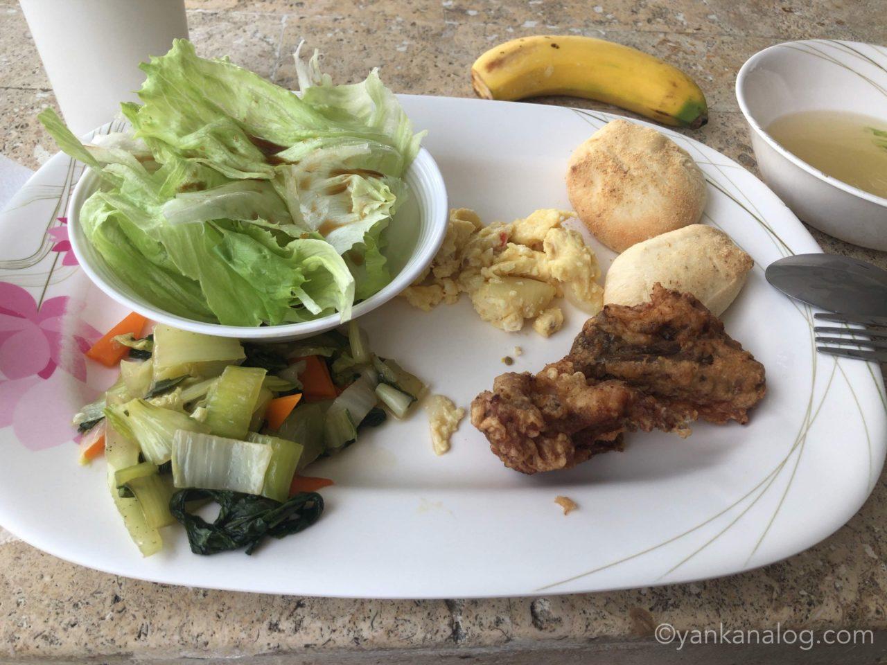 QQEnglishシーフロント校の食事4