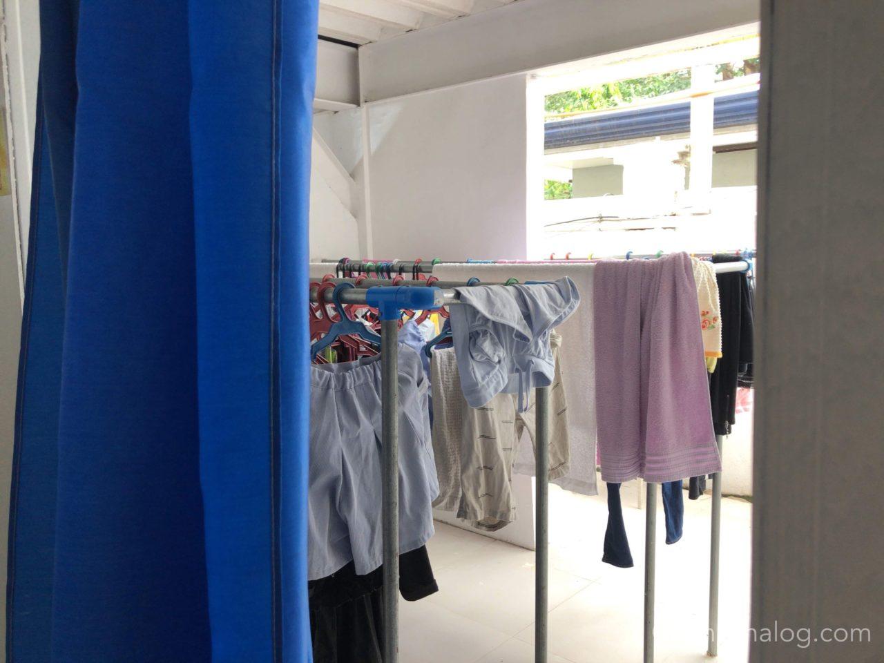 QQEnglishシーフロント校の洗濯事情