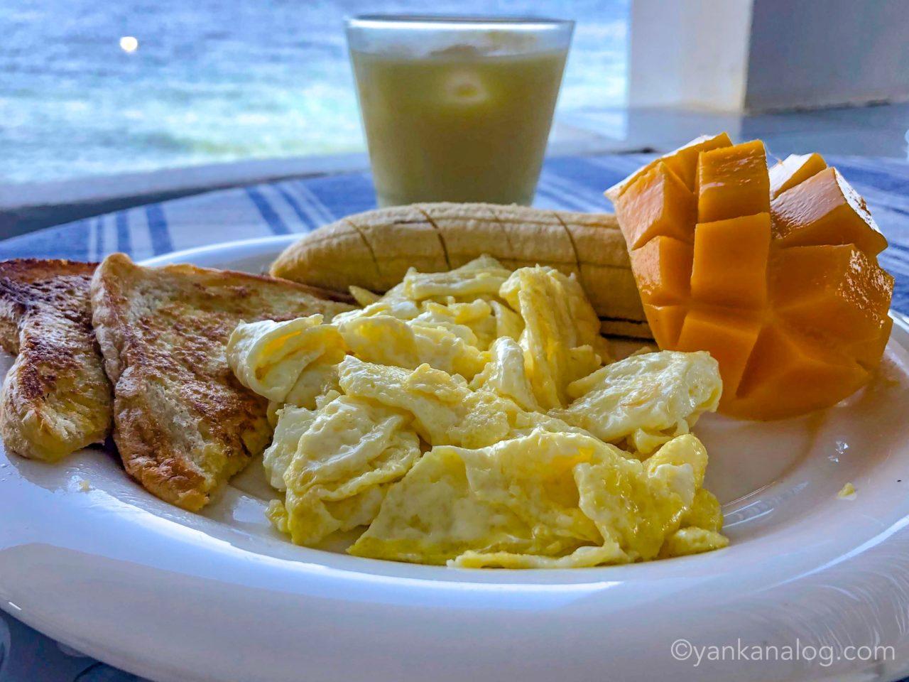 セブ島での朝食