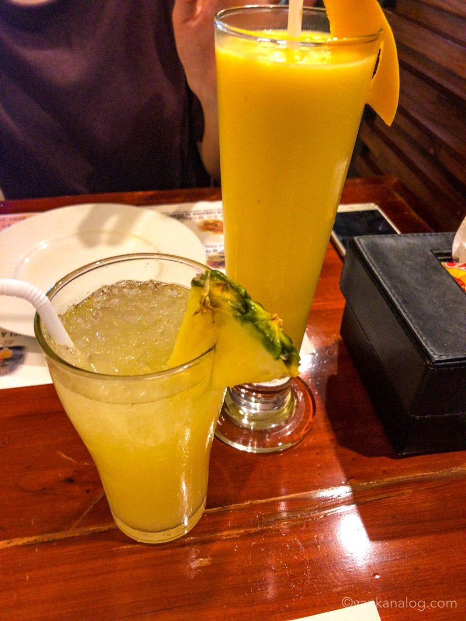 ゴールドマンゴーのジュース