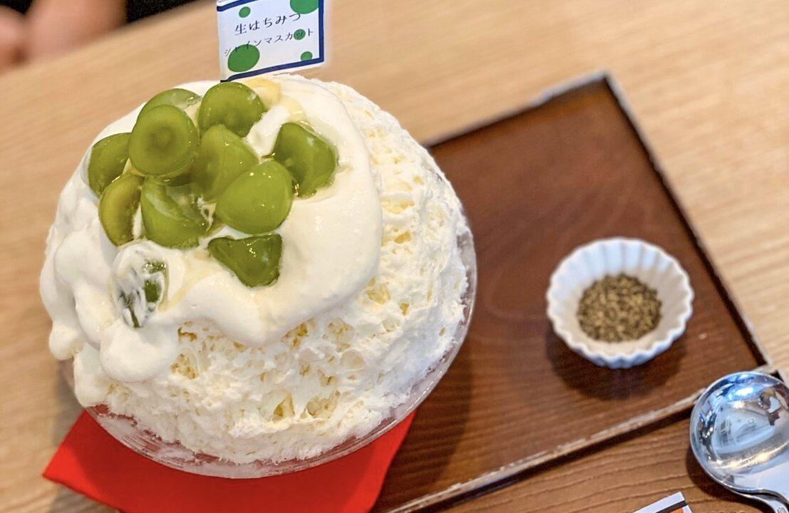 サカノウエカフェのかき氷4