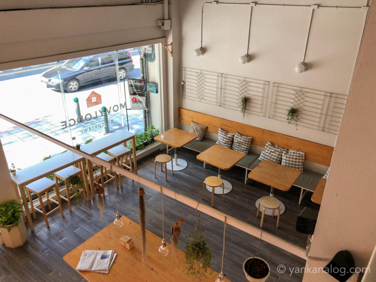 ムービーロッジのカフェ