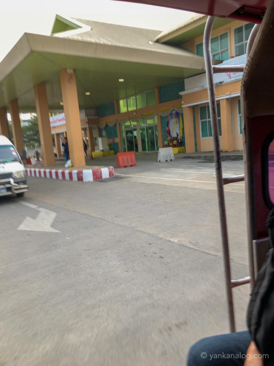 チェンマイのバスターミナル3