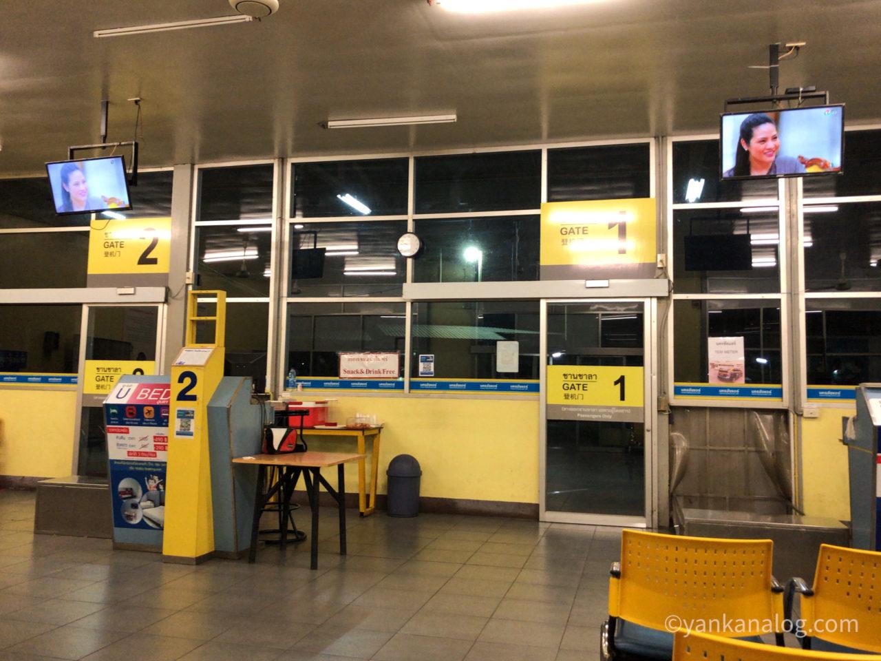 チェンマイのナコンチャイエアバスターミナル4