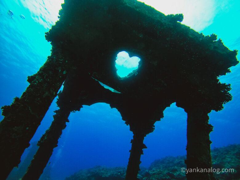 与論島ダイビング海中宮殿