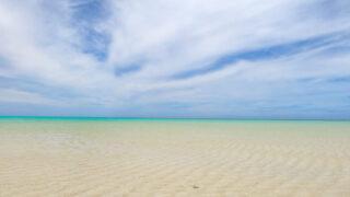 与論島百合が浜3