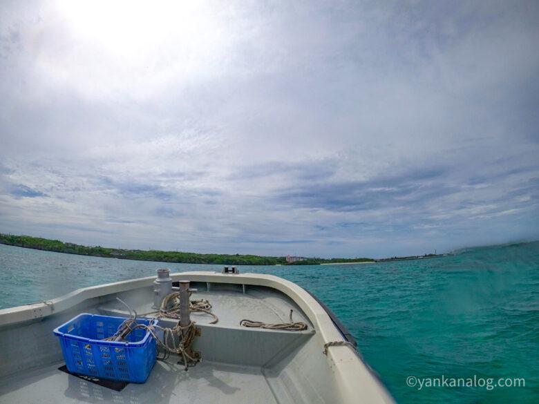 与論島ボートダイビング