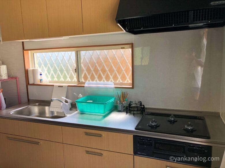 与論島カームのキッチン