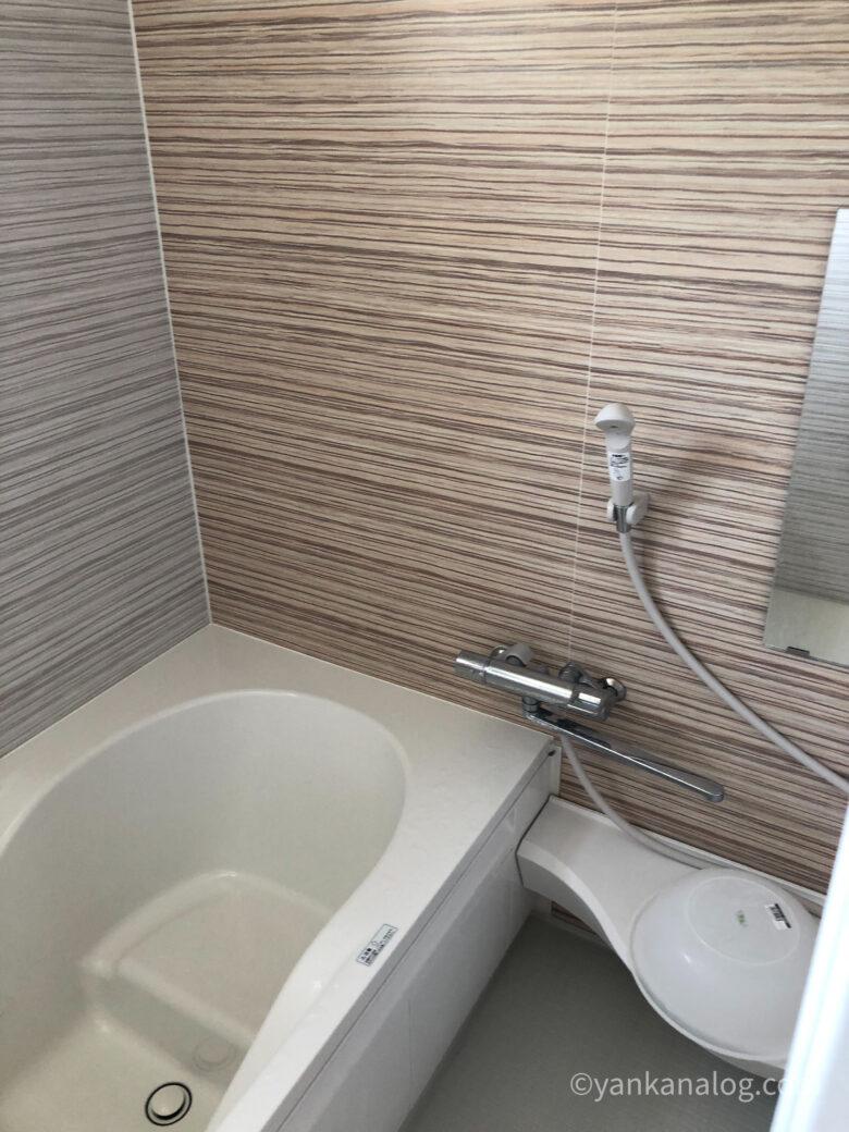 与論島カームの浴室