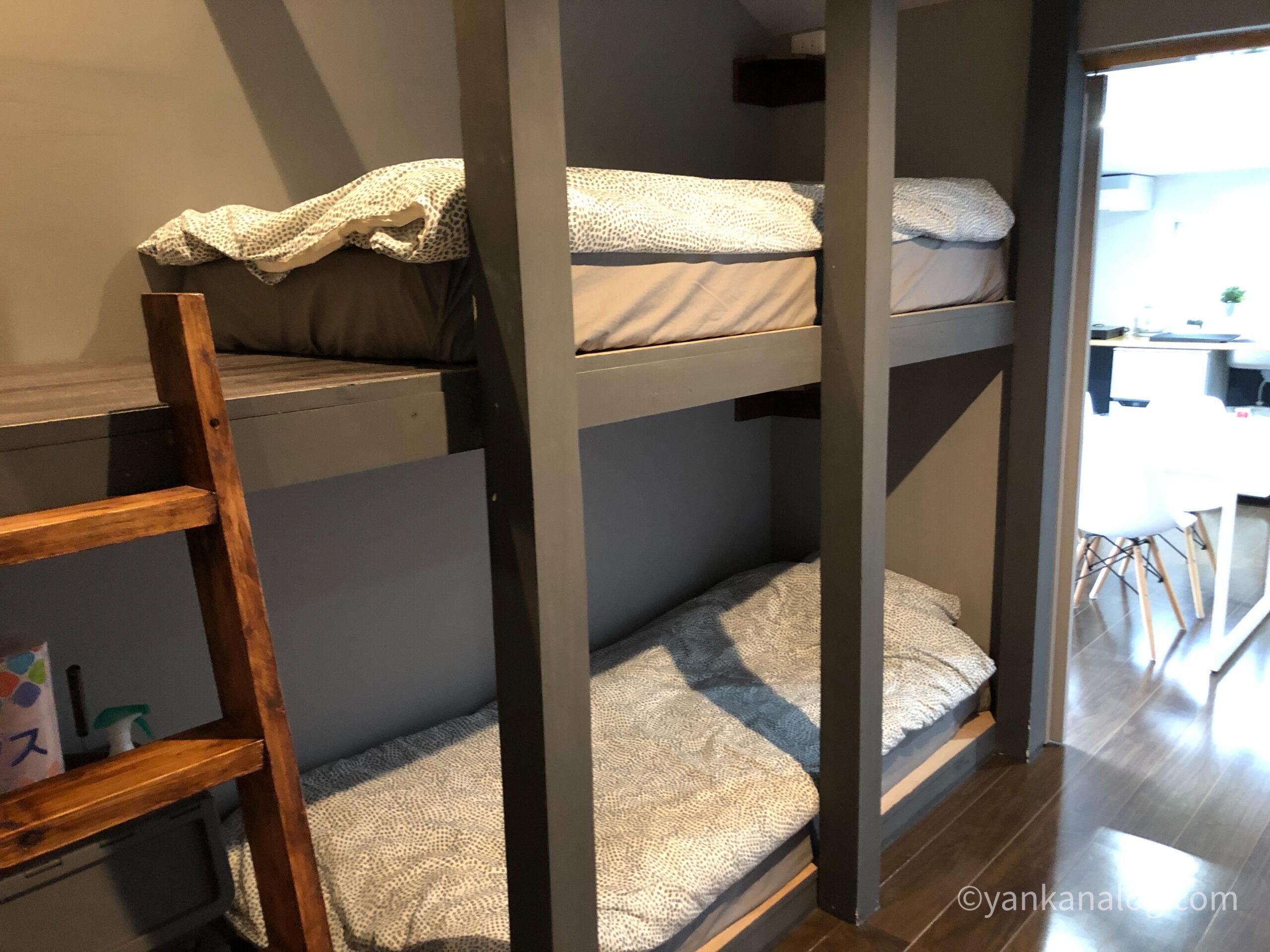 ファミリールーム沖縄ベッド