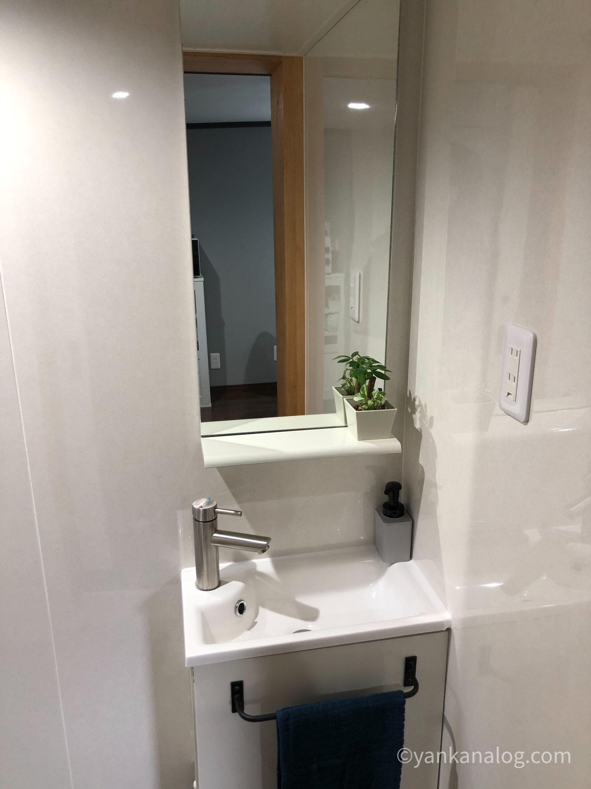 ファミリールーム沖縄洗面台